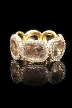 Di Massima Diamond Slice Ring at Donald Haack Diamonds