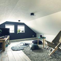 Second Floor, Attic, Corner Desk, Toddler Bed, Loft, Flooring, Space, Architecture, Interior