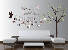 Beautiful Family Tree Wall Decal Ideas