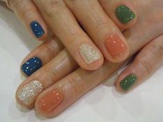 love this color combo with maybe a polka dot instead of glitter?