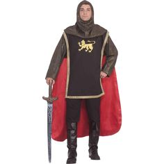 medieval knight adult - Prince Charming Halloween Costumes