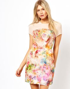#asos                     #love                     #Love #Shift #Dress #Floral #Print                  Love Shift Dress In Floral Print                                              http://www.seapai.com/product.aspx?PID=1380163