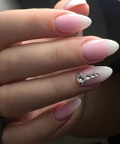 Fascinating Pink Ombre Wedding Nail Art Designs That Make You Mind Blowing Fascinating Pink Ombre Wedding Nail Art Designs That Make You Mind-Blowing