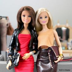 Girls night out! #barbie #barbiestyle