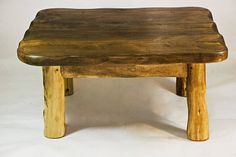 Handmade Small Wooden Coffee Table