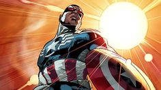 Next Captain America will be Black. Steve Rogers will have to step down as Captain America this fall, passing on his shield to Sam Wilson, a.k.a the Falcon, an old ally of the Captain.