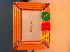 First teacher gift of kindergarten