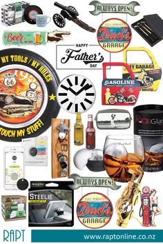 RAPT has all the stuff Dad REALLY wants this Fathers Day!!