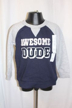 893280be4 Baby Gap Boys 3T Blue Pullover Long Sleeve Soft cotton Sweater ...
