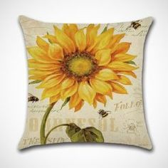 KACOPOL Vintage Oil Painting Sunflower Pillow Covers Home Decor Cotton Linen Throw Pillow Cases Cushion Cover for Sofa Couch Bed Car Square InchesSet of 4 Sunflowers >>> Details can be found by clicking on the image. (This is an affiliate link) Linen Pillows, Couch Pillows, Decorative Pillows, Throw Pillows, Linen Sofa, Sofa Throw, Couch Pillow Covers, Throw Pillow Cases, Cushion Pillow