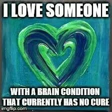 I feel this love all the time! Chronic Migraines, Chronic Illness, Neurological Disorder, Pseudotumor Cerebri, Intracranial Hypertension, Chiari Malformation, I Love Someone, Growth Hormone, Invisible Illness