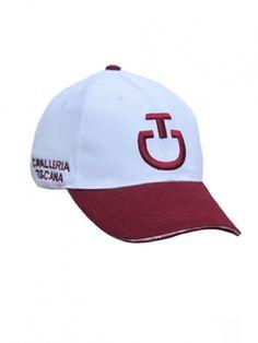 Cavalleria Toscana baseball cap new edition in white