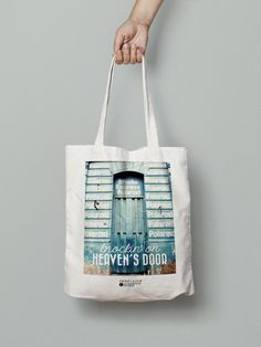 "Tote bag ""Knockin' on heaven's door"""
