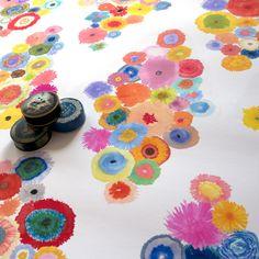 Soft Focus Flora wallpaper by Flat Vernacular