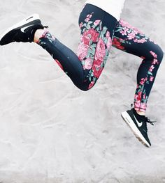 jumping for joy in our {Antigua Extend Leggings} | @albionfit