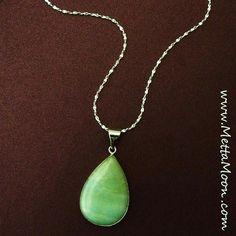 MettaMoon Lucky Tear Pendant Necklace