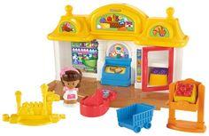 Fisher-Price Little People Buurtsupermarkt - Speelfigurenset