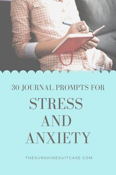 Learn how to journal for mental health. With 30 journal prompts for anxiety and depression. Improve your mood, reduce your stress, and increase overall mental health. Anxiety Relief, Stress And Anxiety, Stress Relief, Work Stress, Anxiety Tips, Anxiety Help, Stress Management, Psychology Programs, Wellness