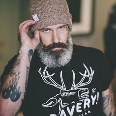 Kinky Beards Perfect Beard, Beard Love, Beard Tattoo, Hair And Beard Styles, Bearded Men, Hairy Men, Badass Beard, Sexy Beard, Mustache Styles