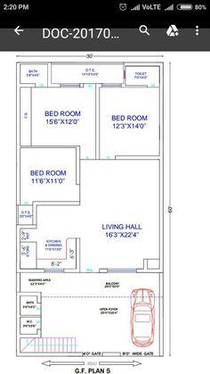Convert floor plan pdf, sketch or image drawing to autocad by Piyushmalewar 2bhk House Plan, Model House Plan, Simple House Plans, House Layout Plans, Duplex House Plans, Best House Plans, Dream House Plans, Simple Floor Plans, Rectangle House Plans