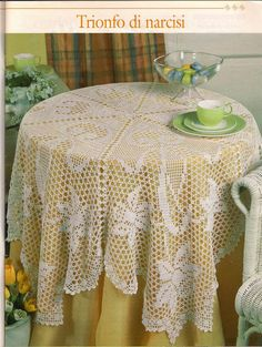 World crochet: Tablecloth 94