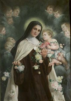 The little flower, St. Therese'