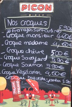 I would do anything for a Croque right now!