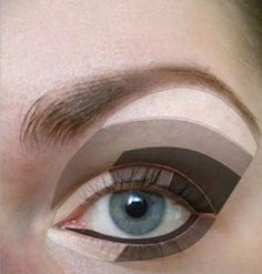 Makeup for Clients with Hooded Eyes. Makeup for clients! Eyeshadow Step By Step, How To Apply Eyeshadow, Smokey Eyes, Smokey Eye Makeup, Brown Makeup, Natural Eye Makeup, Eye Makeup Tips, Makeup Ideas, Makeup Tricks