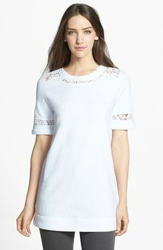 Rebecca Taylor Lace Insert Tunic available at #Nordstrom