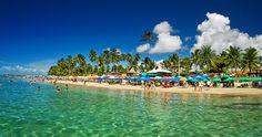 Praias do Brasil onde você pode passar suas férias, visitar lugares bonitos.