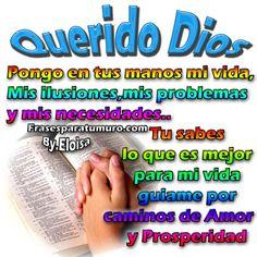 FrasesparatuMuro.com: Querido Dios