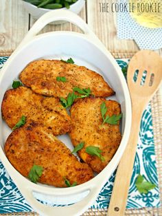"Oven Baked ""Fried Chicken"" with Pico de Gallo - Hispanic Kitchen ..."