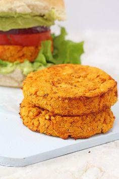 Cajun Sweet Potato and Chickpea Veggie Burger Recipe | Healthy Ideas for Kids