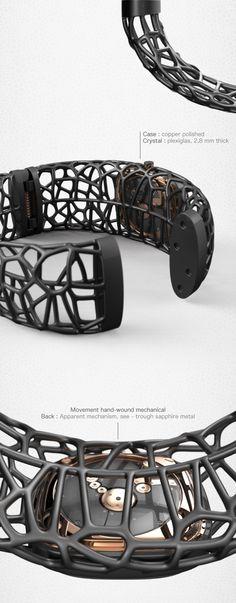 Lichen . exosqueleton watch on Behance