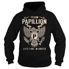 Team PAPILLION Lifetime Member - Last Name, Surname T-Shirt