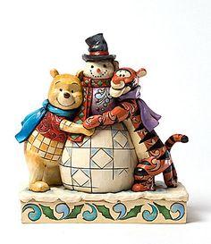 Jim Shore Disney Winter Hugs / Winnie the Pooh and Tigger Too! Tigger And Pooh, Pooh Bear, Disney Winnie The Pooh, Disney Love, Walt Disney, Tigger Disney, Disney Stuff, Jim Shore Christmas, Disney Christmas