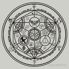 #alchemy #magic #circle #soul #body #fire #air #water #