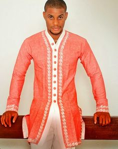 Nigeria Fashion For Men -Nice Colour Combinations - DeZango Fashion Zone African Inspired Fashion, African Men Fashion, Africa Fashion, Ethnic Fashion, African Clothing For Men, African Women, Womens Fashion, African Attire, African Wear