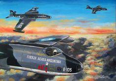 The Art Of Flight, Falklands War, Airplane Art, Aviation Art, Royal Navy, Military Art, Illustrations Posters, Aircraft, The Incredibles