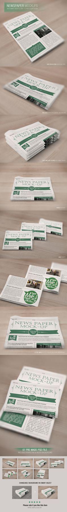 Newspaper mockup by Wutip Team http://on.be.net/1qM4Koq