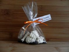Halloween Skeleton Favor Bags by BubbasSweets on Etsy, $15.00