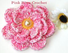 \ PINK ROSE CROCHET /: Muitas Flores