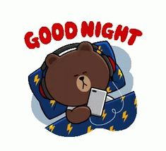 The perfect Brown Cute Line Animated GIF for your conversation. Discover and Share the best GIFs on Tenor. Good Night Gif, Good Night Image, Day For Night, Cute Couple Cartoon, Cute Love Cartoons, Cute Cartoon, Good Night Greetings, Good Night Wishes, Bear Gif