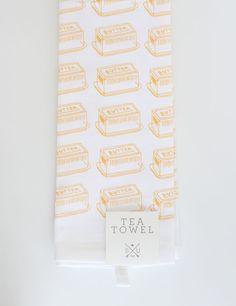 Butter print <3 Southern Tea Towel