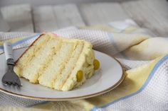 Coconut Cake with White Chocolate, Cream Cheese Ombre Frosting » A Swoonful of Sugar
