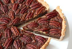 Easy Vegan Pecan Pie... Perfect for Thanksgiving and Christmas