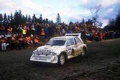 Britain 1986 Per Eklund.  #wrc #wrcofficial #rally #rallye #mgmetro #mgmetro6r4 #rac #racrally #britain #gb #rallygb #worldrally #rallyfans #rallycar #cars