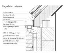 Architecture Building Design, Architecture Details, U Glass, Roof Truss Design, Steel Frame House, Architecture Sketchbook, Roof Detail, Roof Structure, Ceiling Design