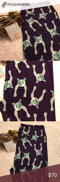 LulaRoe TC Cat leggings!! Major Unicorn!!  Brand new - never worn LulaRoe CAT leggings!! Omg these are sooooo CUTE!! Major Unicorn Alert!!!  Get them before they are gone!! Free gifts with purchase!!  LuLaRoe Pants Leggings