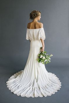 """""""Lu"""" Bohemian Wedding Dresses. Women, Men and Kids Outfit Ideas on our website at 7ootd.com #ootd #7ootd"""